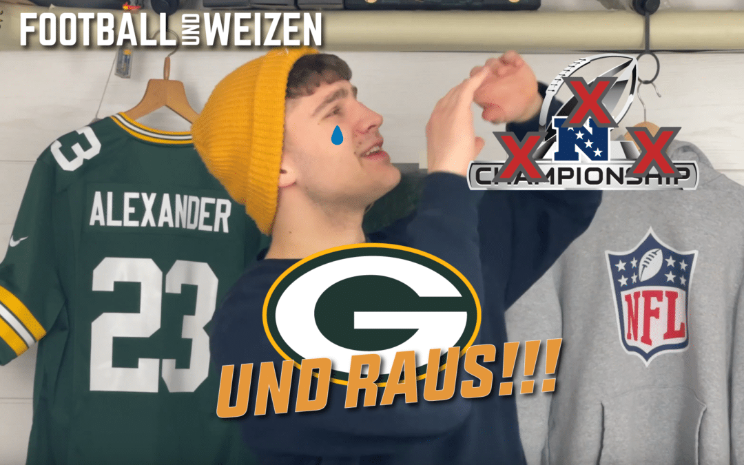 NFC Championship Game Review auf Youtube!